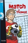 Le Match de Thomas + Audio CD (A1)