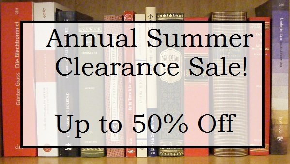 Schoenhof's Summer Clearance Sale