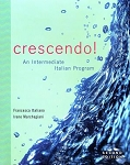 <b>USED</b> Crescendo!: An Intermediate Italian Program with Text Audio CD - 2nd Edition