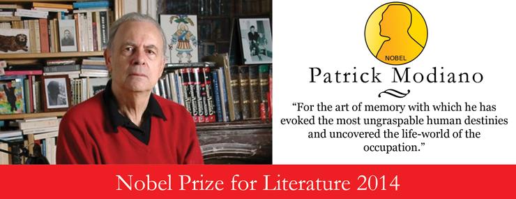 Modiano Wins 2014 Nobel Prize
